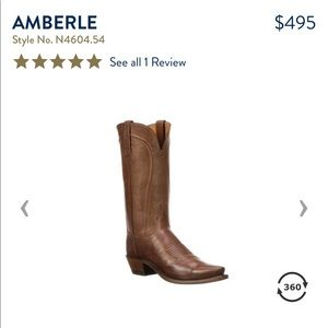 Lucchese Amberle boots